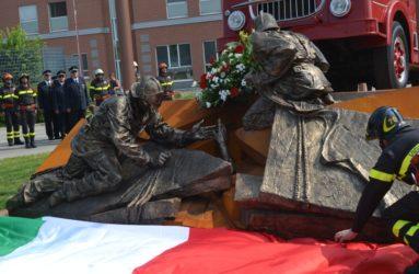 monumento dedicato ai vigili del fuoco