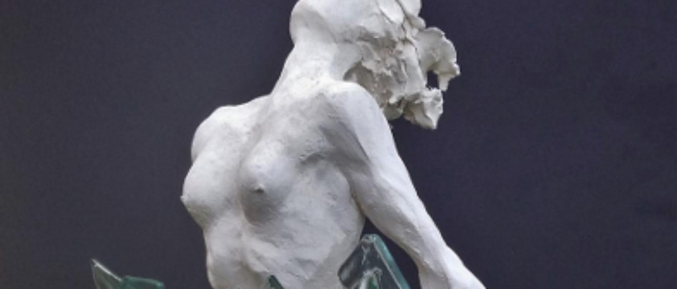 forza d'inerzia scultore Pavia