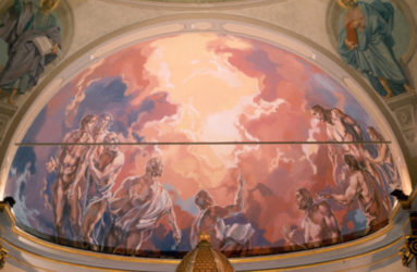 pittura affreschi pavia