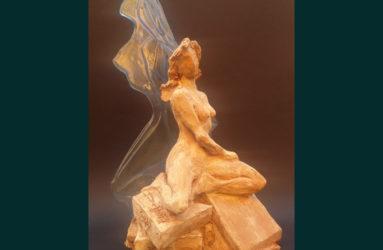 specchio dell'anima scultura di Antonio De Paoli