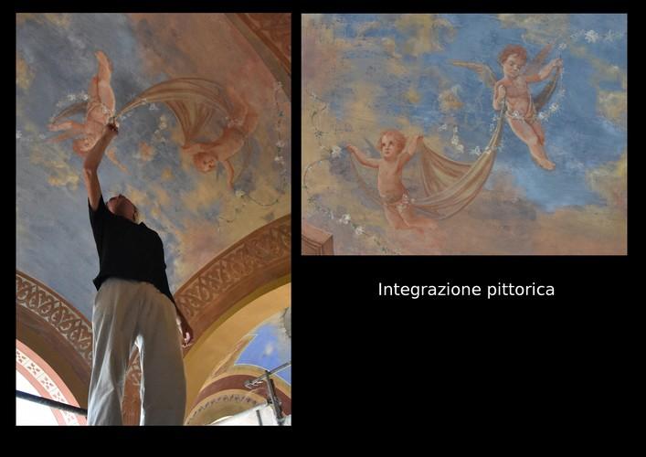restauro decorazione pittorica
