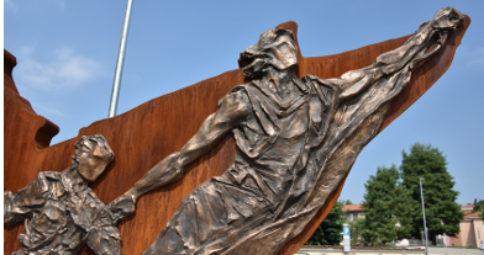 """""""venti mesi per la libertà"""" - monumento dedicato alla Resistenza"""