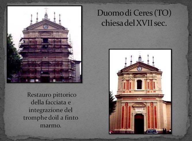 restauro decorazione facciata