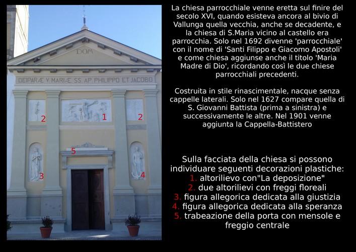chiesa parrocchiale di Piea restauro
