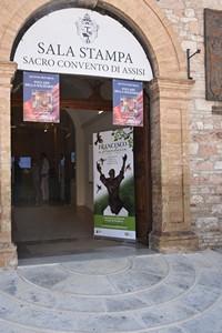 presentazione del progetto Francesco a Piandarca - sala stampa