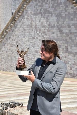Francesco a Piandarca - Antonio De Paoli e il bozzetto vincitore