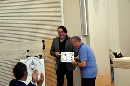 Francesco a Piandarca -premiazione del vincitore